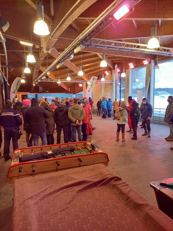 réunion patinoire du 31 janvier
