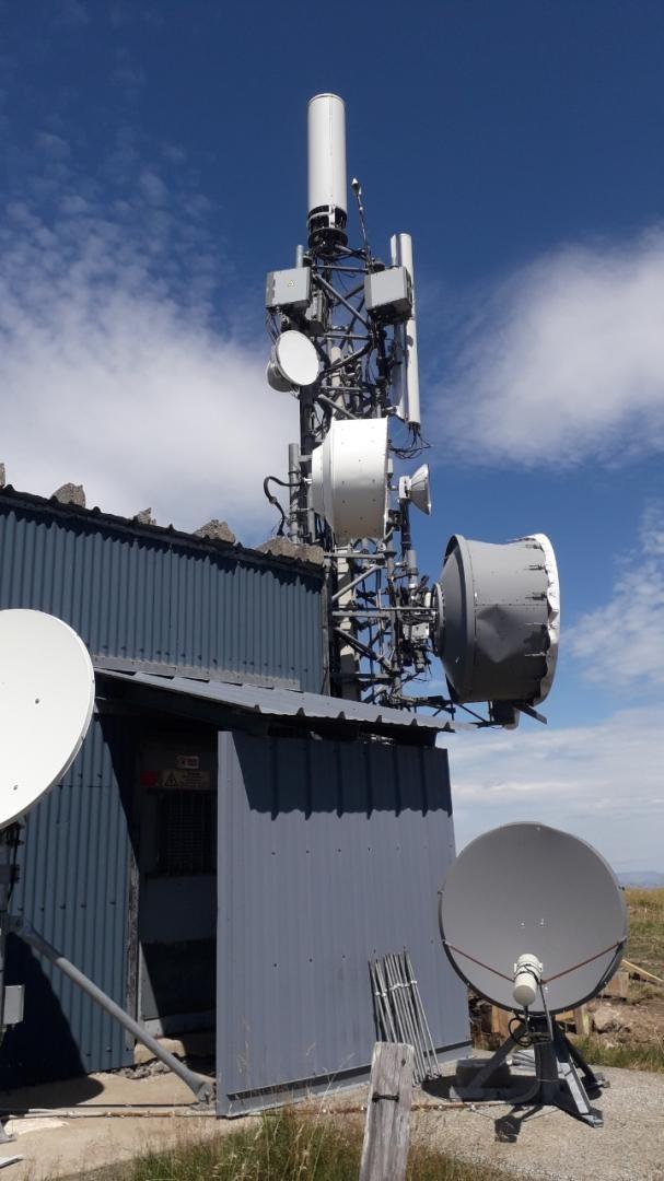 antennes sur pylone TDF